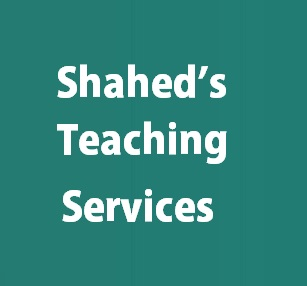 Shahed's Teaching Services